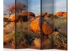 Paraván - African landscape, Namibia II [Room Dividers]